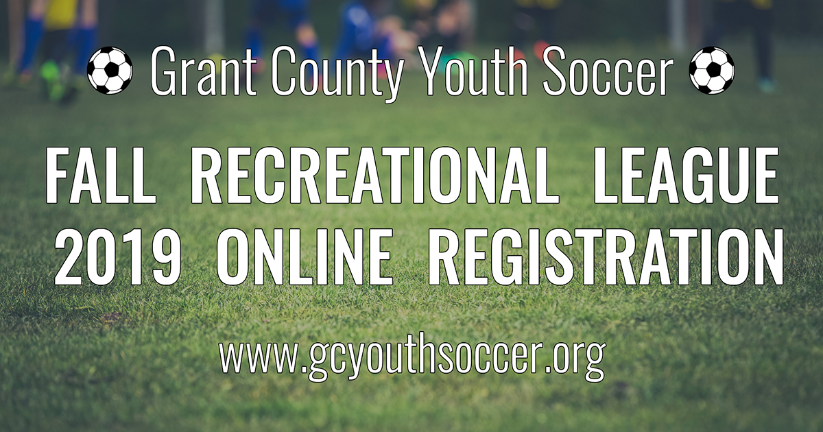 Fall Recreational League | Grant County Youth Soccer